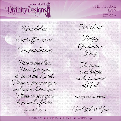 Divinity Designs Stamp Set: The Future