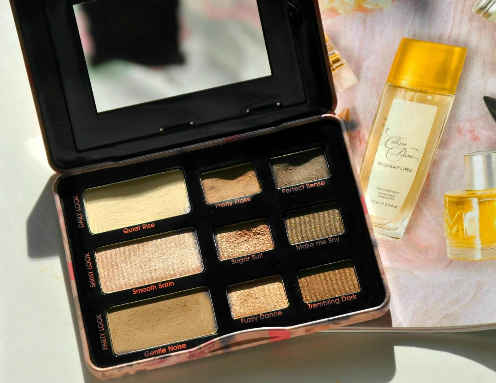 Lovely - Fabulous Kit, recenzja paletki cieni do powiek już dziś na blogu kosmetycznym Różowy świat Marthe