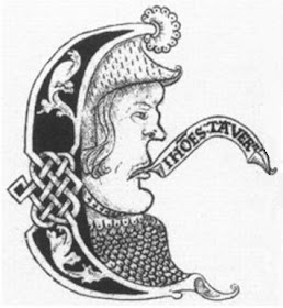 A possible likeness of John Taverner (c. 1490 - 1545) in an ornamental capital E in the Forrest-Heyther partbooks.