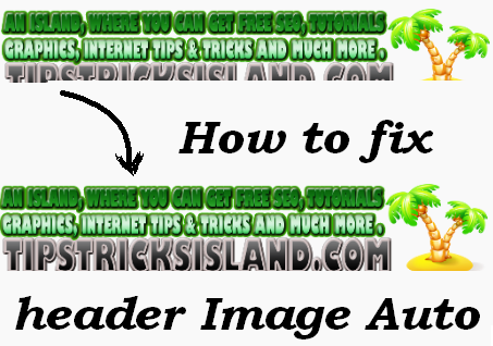 how Fix Header Image
