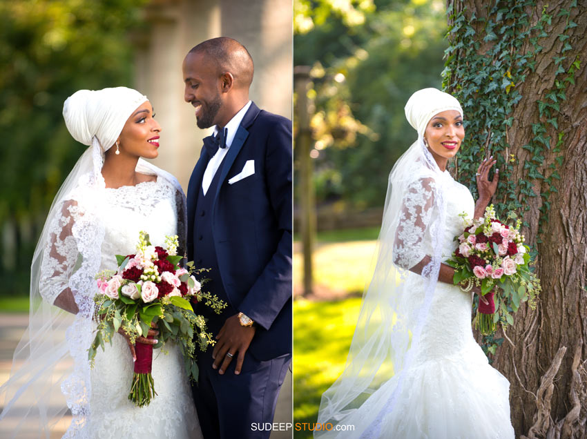 Beautiful Somali Bride Wedding Dress and Style - SudeepStudio.com Ann Arbor Wedding Photographer