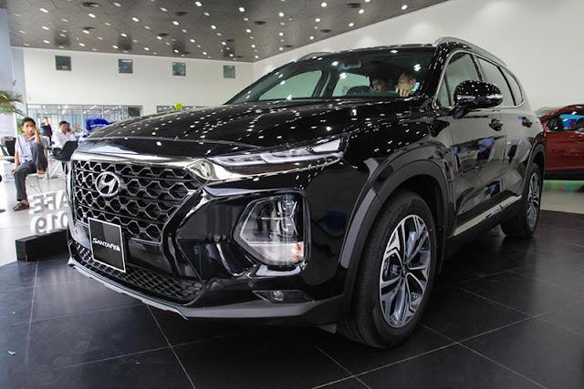 Hyundai SantaFe thế hệ 4 được sản xuất tại Việt Nam