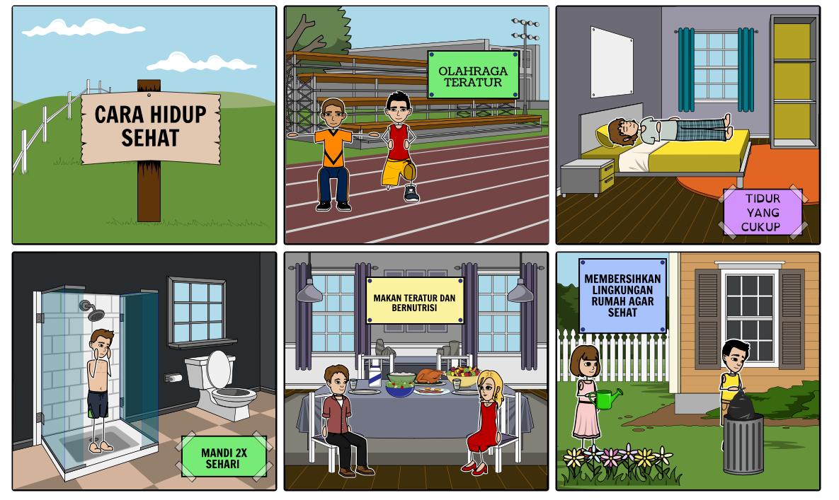 Tugas 3 Storyboard Iklan Layanan Masyarakat