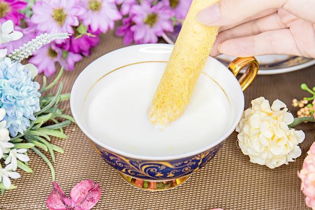 MG 4886 - 熱血採訪│津式手作蛋捲,19公分超長蛋捲酥鬆香甜,粉嫩馬卡龍燙金包裝好有質感!