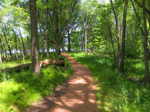 The Green Circle Bike Trail in Stevens Point Wisconsin