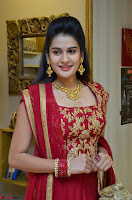 Jenny Honey in Stunning Dark Red Anarkali Dress at Splurge   Divalicious curtain raiser ~ Exclusive Celebrities Galleries 028.JPG