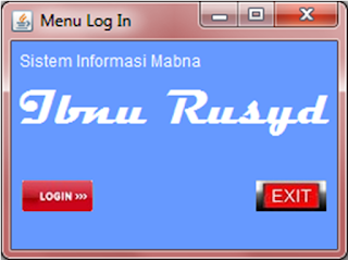 Kelas Informatika - Interface Kotak Dialog Login