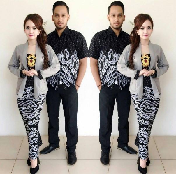 Model Batik Couple Modern Terbaru