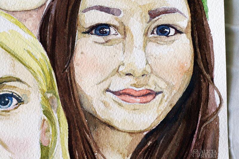 aliciasivert alicia sivert sivertsson hus husmålning måla måleri akvarell aquarelle watercolor watercolour water color colour vattenfärg skapa skapande kreativitet konst present beställa beställning konst art porträtt