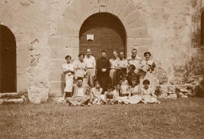 Santuario de Falgars, agosto de 1955