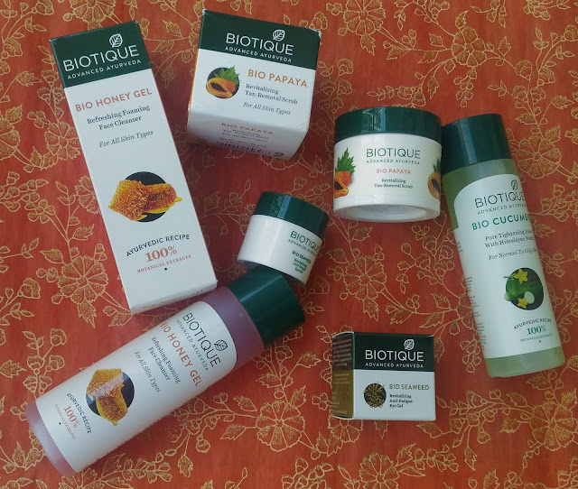Biotique Products Review, Biotique Revitalizes And Refreshes Skin
