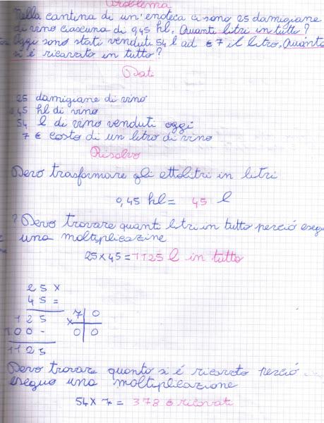 didattica matematica scuola primaria: Problemi sul S.M.D ...