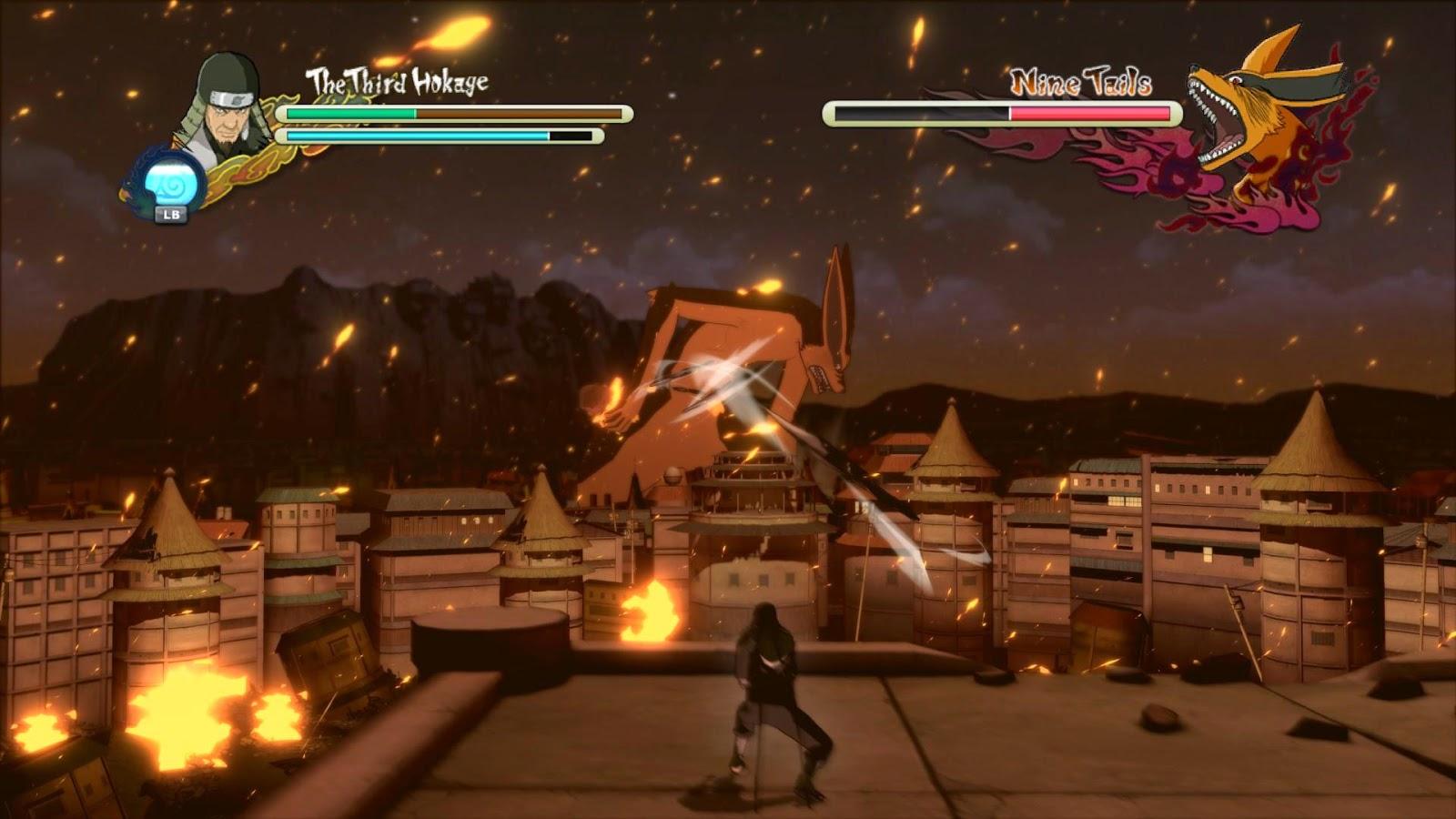 Naruto ultimate ninja storm 3 PC game crack Download
