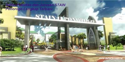 Daftar Fakultas dan Jurusan STAIN Ponorogo Lengkap Terbaru