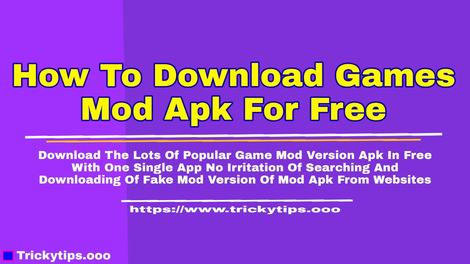How To Download Games Mod Apk For Free In [Urdu]