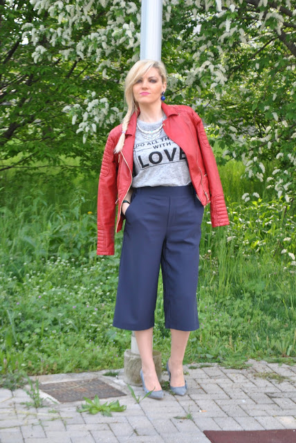 outfit pantaloni culotte come abbinare i pantaloni culotte abbinamenti pantaloni culotte how to wear culotte pants how to combine culotte pants how to match culotte pants spring outfit outfit aprile 2016 outfit primaverili mariafelicia magno fashion blogger color block by felym fashion blogger italiane fashion blog italiani fashion blogger milano blogger italiane blogger italiane di moda blog di moda italiani ragazze bionde blonde hair blondie blonde girl fashion bloggers italy italian fashion bloggers influencer italiane italian influencer