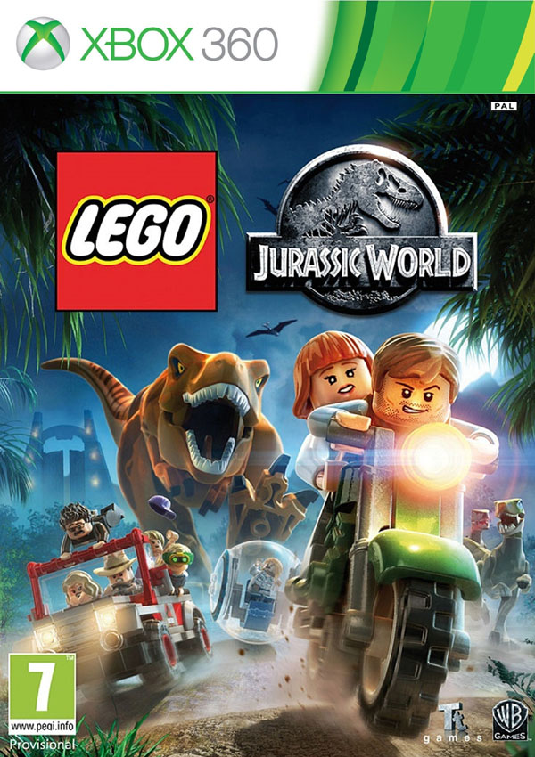 Lego Jurassic World Download Cover Free Game