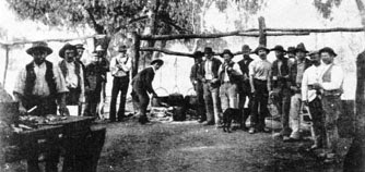 Shearing in the bushranging era