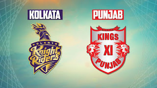 Kolkata Knight Riders and Kings XI Punjab