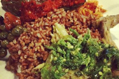Resep nasi merah sayur lombok ijo