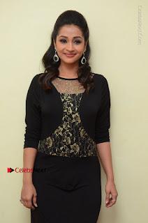 Telugu Actress Manasa Manohar Stills in Black Long Dress at Naku Nene Thopu Turumu Trailer Launch  0029.JPG