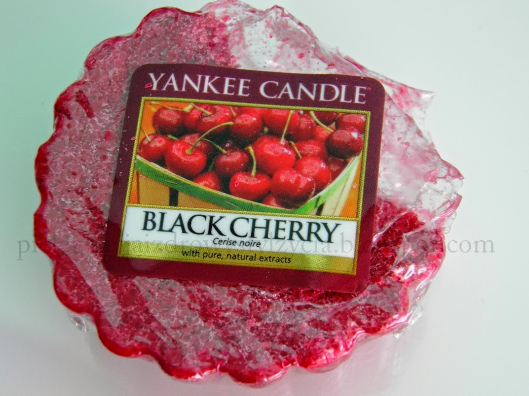 Black Cherry Yankee Candle opinie
