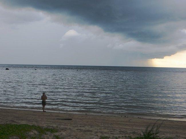 Берег пляжа острова Самуи