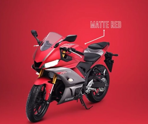 Yamaha R25 Matte Red