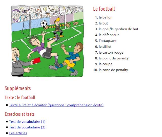 https://francais.lingolia.com/fr/vocabulaire/sport/football