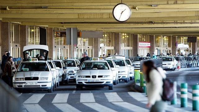 Taxi en Barajas