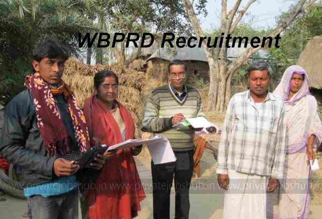 WBPRD Recruitment