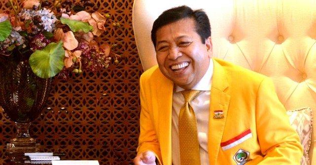 Setya Novanto Resmi Kembali Jadi Ketua DPR