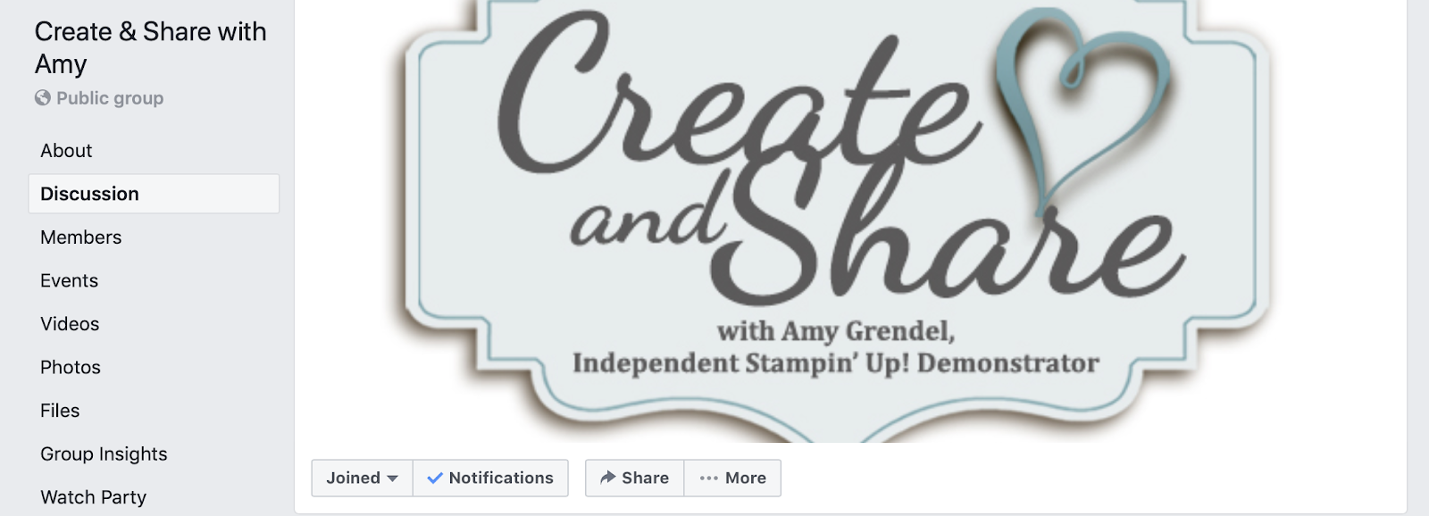 CREATE & SHARE FB GROUP