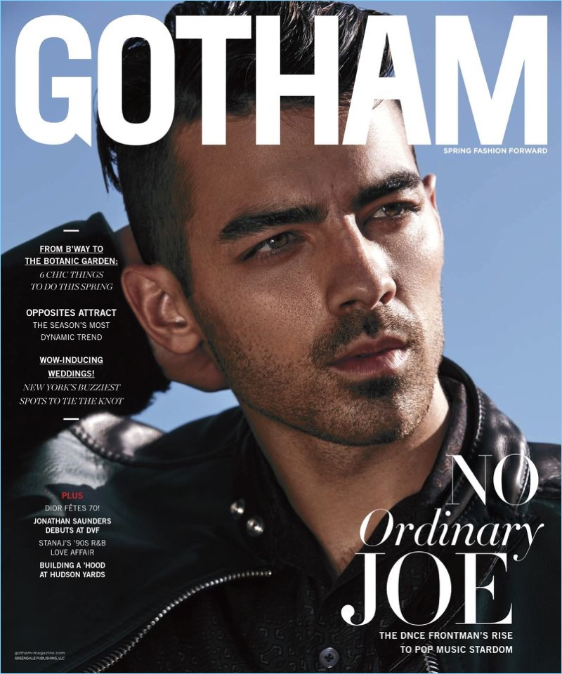 Joe Jonas is a stud for Gotham Magazine
