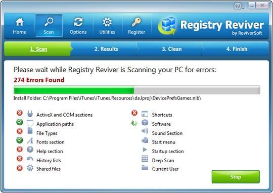 ReviverSoft Registry Reviver v4.6.2.2 Full Crack