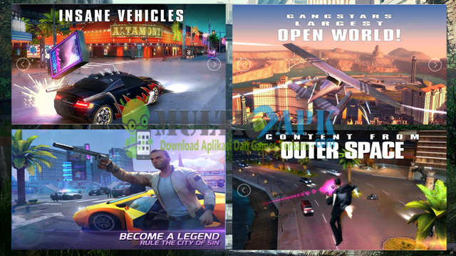 Game Gangstar Vegas Terbaru Apk+Data Mod