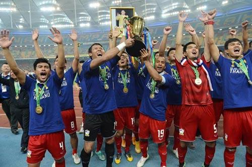 Thái Lan nâng cao chức vô địch lần thứ 5.