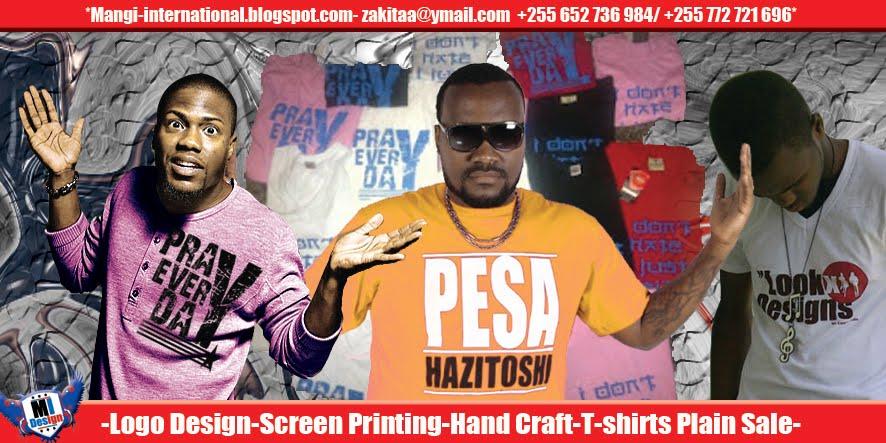 mangi international: Jinsi ya kuprinting t shirt kwa kutumia