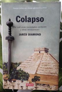 Portada del libro Colapso, de Jared Diamond
