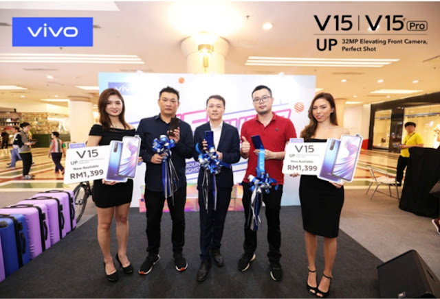 VIVO V15 SMARTPHONE OFFICIALLY LAUNCHES T SUPERDAY SALE AND RECEIVES OUTSTANDING SALES