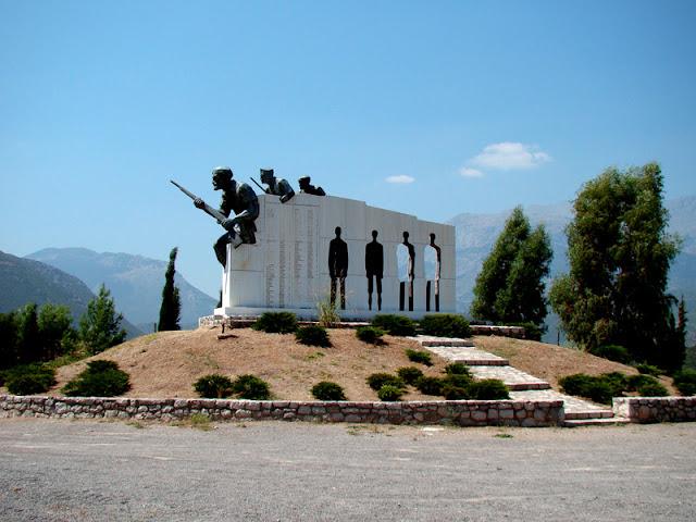 Distomo Memorial by cargus for Trekearth