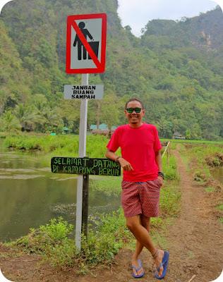 Desa Berau Ramang Ramang Makassar Sulawesi