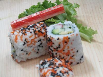 Sushi halal dan sehat