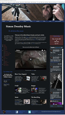 The Simon Densley Music website