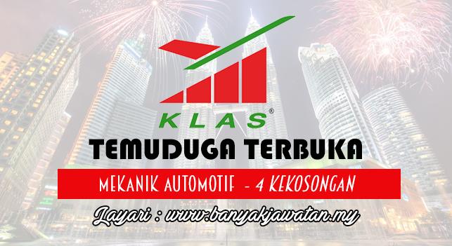 Temuduga Terbuka 2017 di KL Airport Services Sdn. Bhd (KLAS)