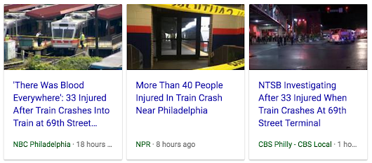 26 33 42 69 101 155 666 | 33 injured in Philadelphia train crash at 69th Street, August 22, 2017