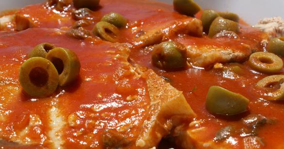 Media hora para cocinar pez espada a la siciliana for Cocinar pez espada