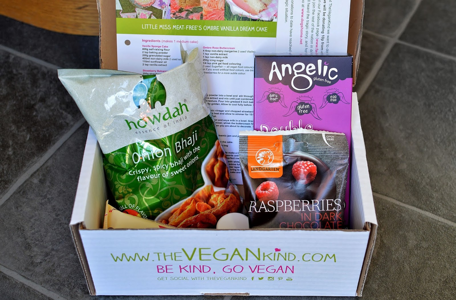 The Vegan Kind October Tuck Box
