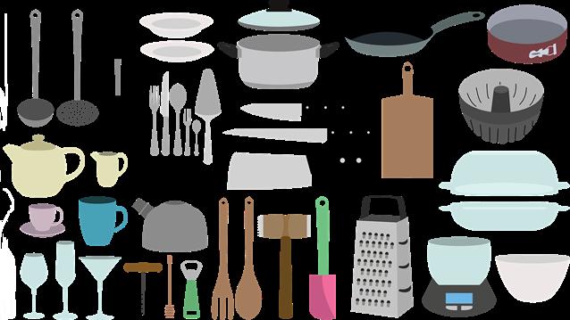 Itens de cozinha