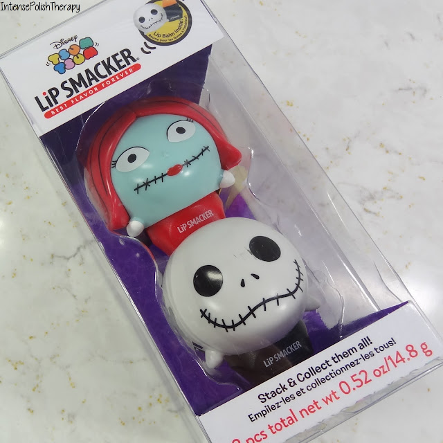 Lip Smacker x Tsum Tsum - Jack & Sally Lip Balm Set
